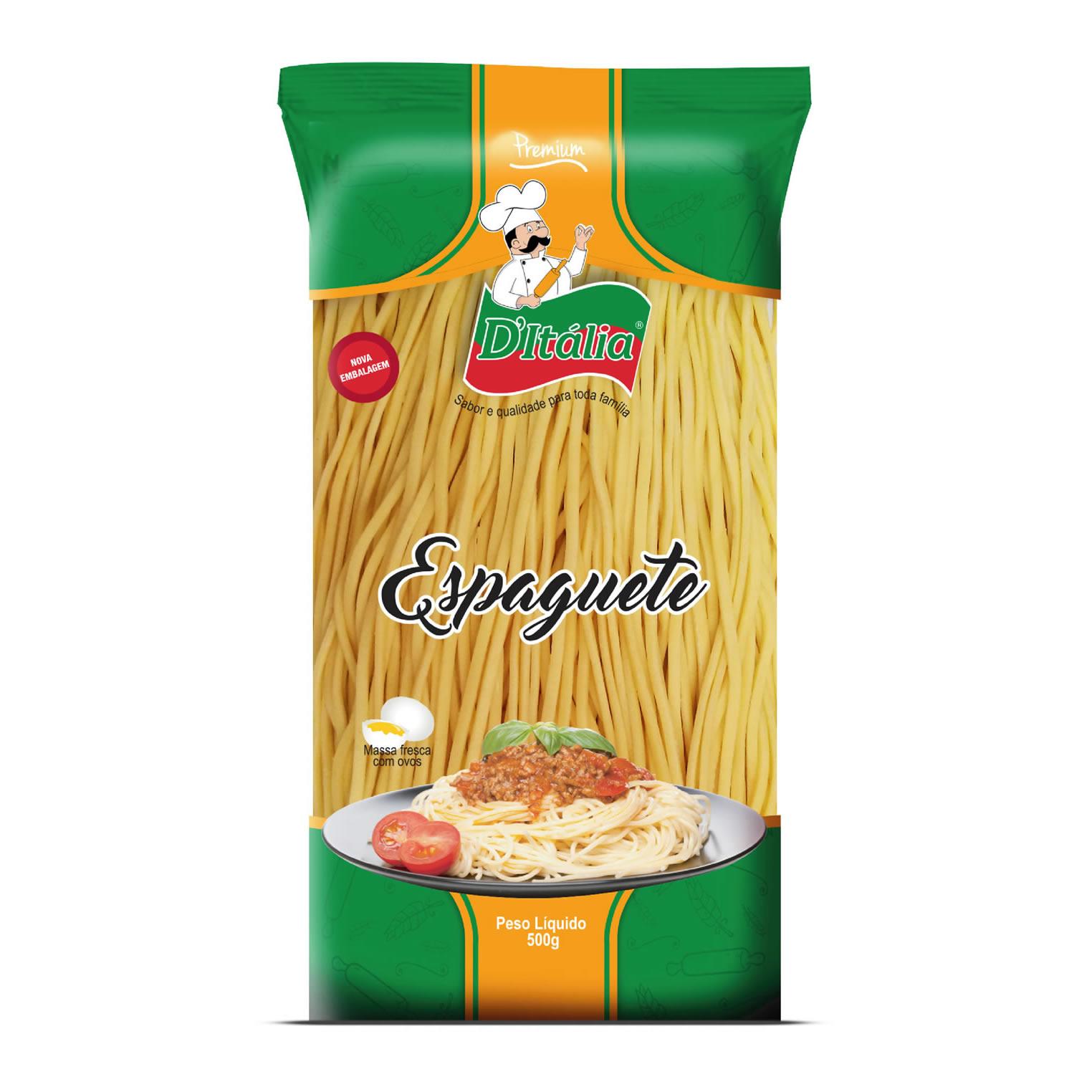 Massa Fresca Espaguete