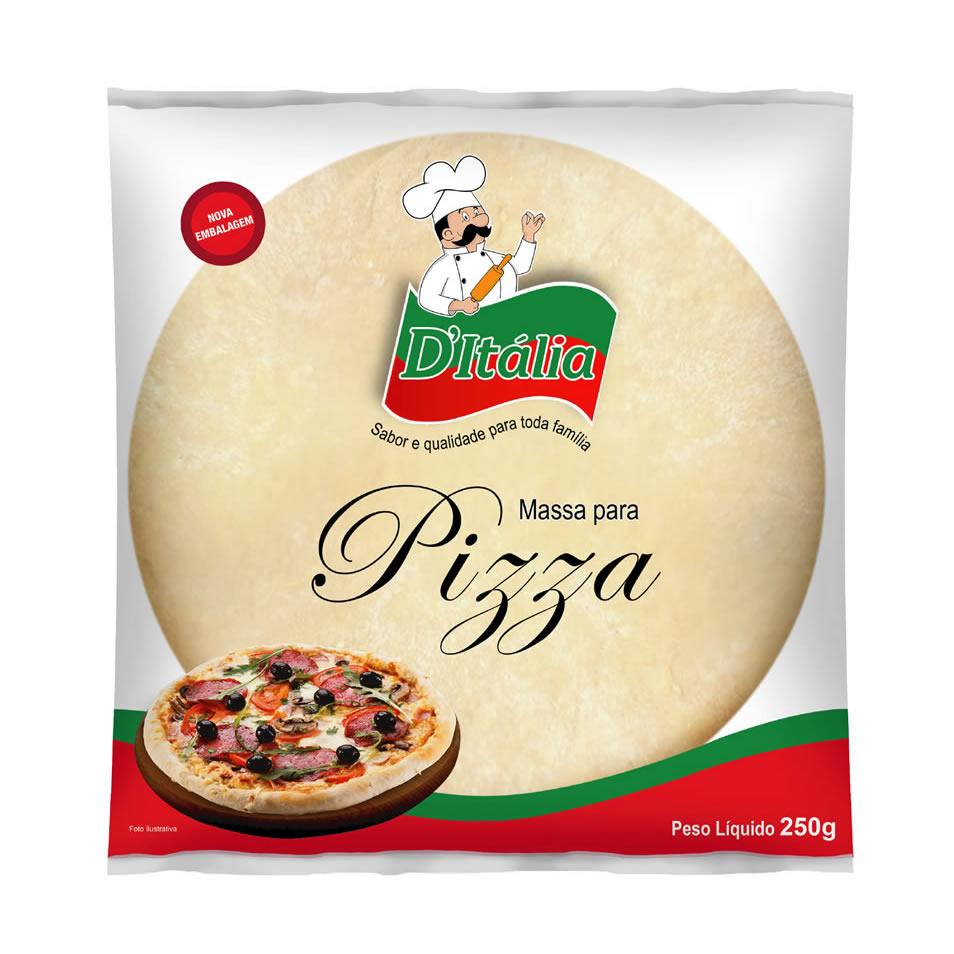 Massa para Pizza Família