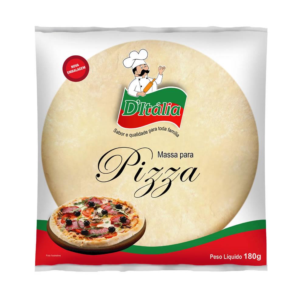Massa para Pizza Grande