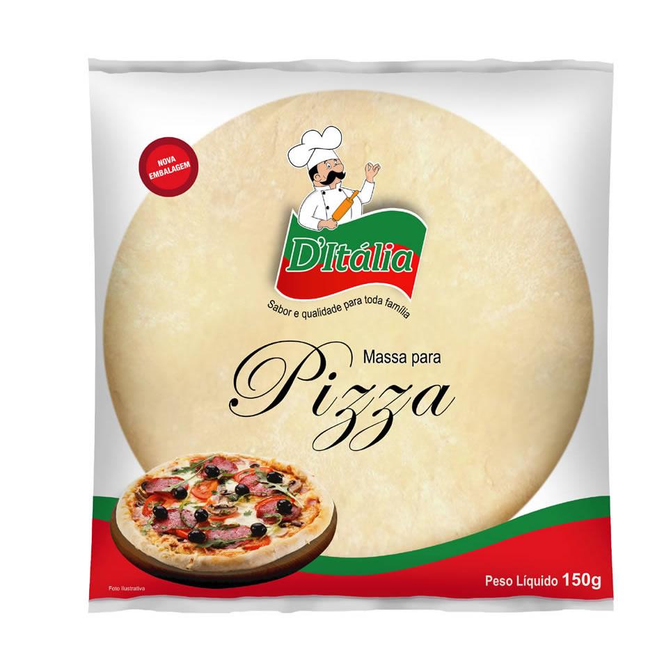 Massa para Pizza Média